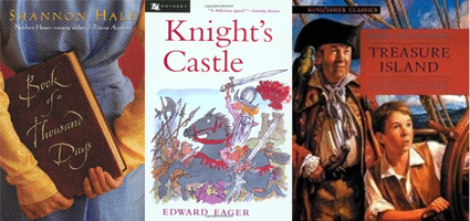 Book of a Thousand Days, Knight's Castle, Treasure Island