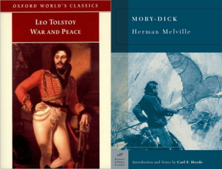 War and Peace and Moby Dick