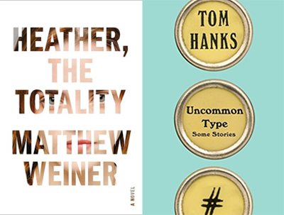 Book covers: Heather, in Totality and Uncommon Type