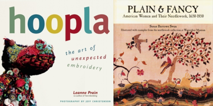 Covers of Hoopla and Plain and Fancy