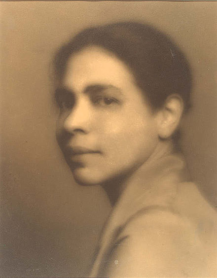 Author Nella Larsen 1928 via Wikipedia